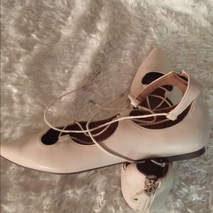 H&M Shoes - H&M Pointed Flats w/Straps